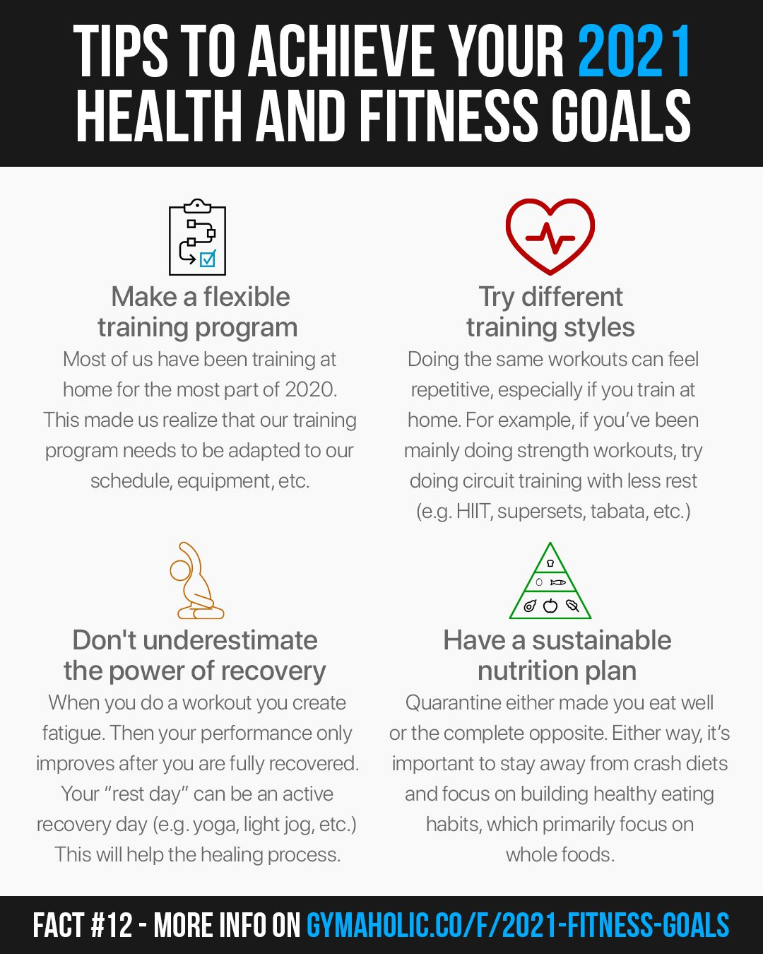How to achieve your 2021 health and fitness goals