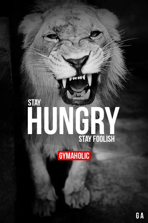Stay Hungry, Stay Foolish!!
