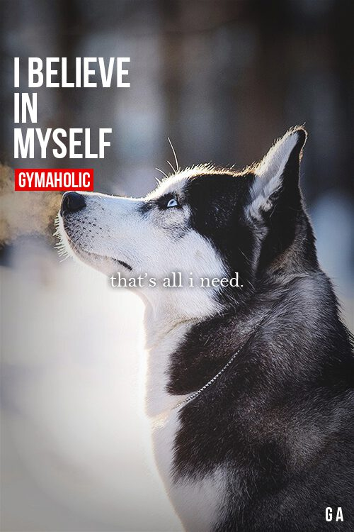 believe in myself When do we use the phrase 'i myself' in a sentence is the word 'myself' used only for purpose of emphasis i am writing an article and wish to use the following.