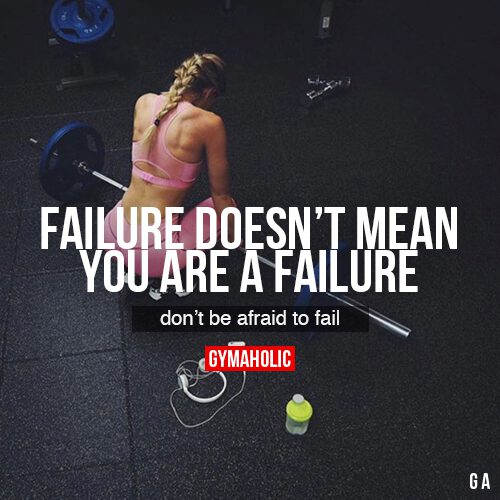 Failure Doesn't Mean You Are A Failure