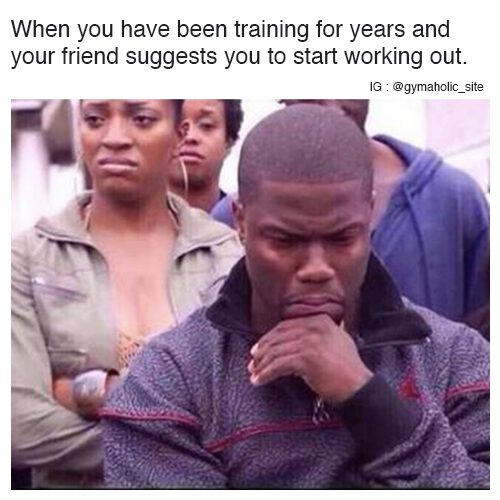 When You Have Been Training For Years
