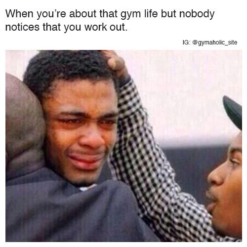When You're About That Gym Life