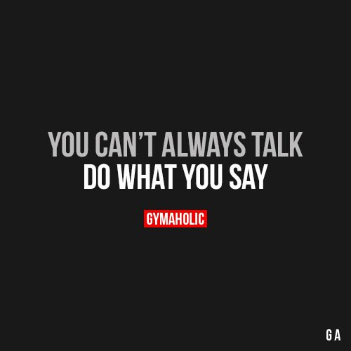You Can't Always Talk