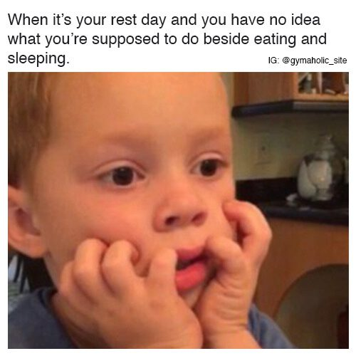 When It's Your Rest Day