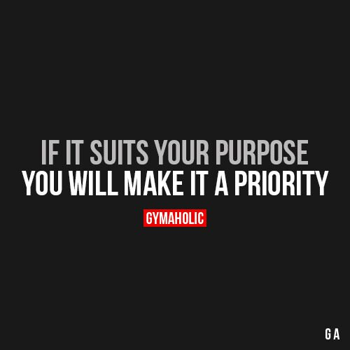 If It Suits Your Purpose
