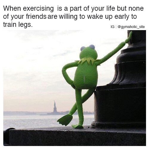 When Exercising Is A Part Of Your Life