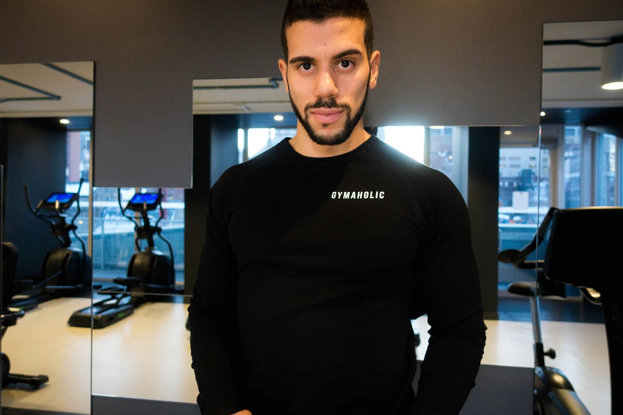 The Gymaholic Sweatshirt is now available.