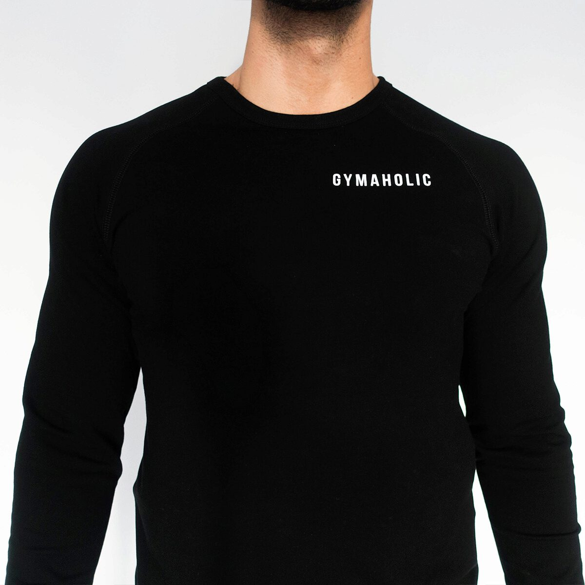 The Gymaholic Sweatshirt can be used in and out the gym with confidence.
