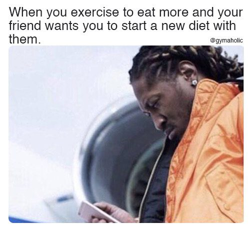 When you exercise to eat more