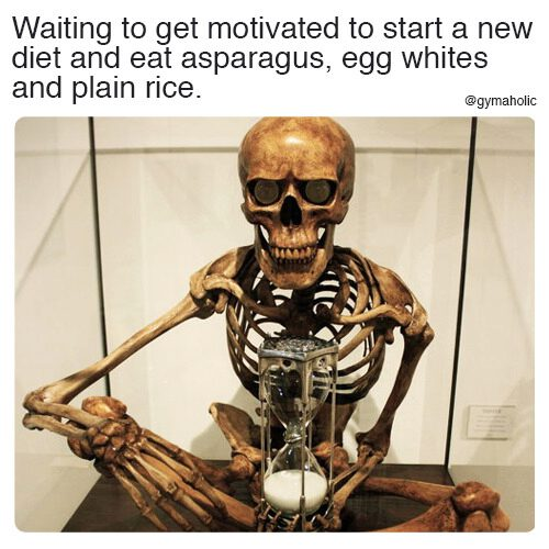 Waiting to get motivated to start