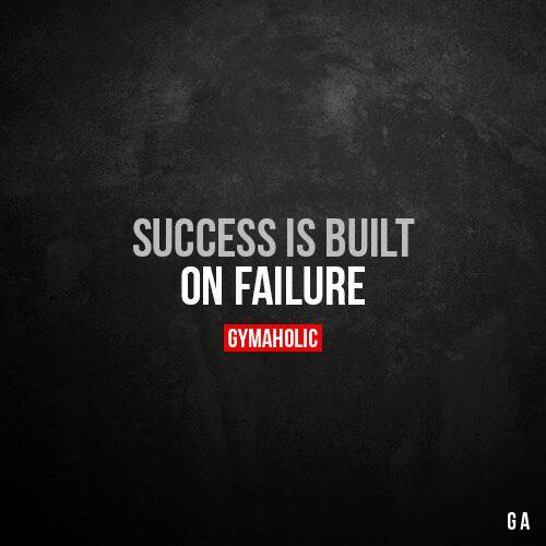 Success is built