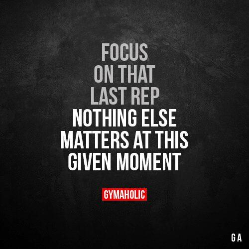 Focus on that last rep